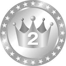 メダル型王冠イラストランキング1位2位3位 無料フリーイラスト