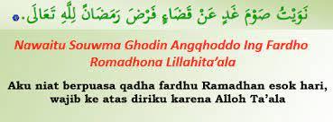 Bacaan niat puasa ramadhan 1442 h, ini waktu yang tepat untuk. Niat Puasa Ramadhan Qadha