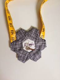 19 best Quilted Name Tag images on Pinterest | Stitching, At sign ... & The Jersey Shore Modern Quilt Guild drew names have a Name Tag exchange.  And I Adamdwight.com