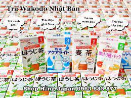 Trà wakodo (lúa mạch, điện giải) - Hằng Japan - Hệ thống cửa hàng Mẹ và Bé