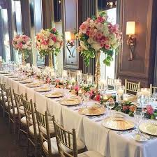 Amazing of Wedding Reception Table Design Wedding Wednesday Long Table  Designs Flirty Fleurs The