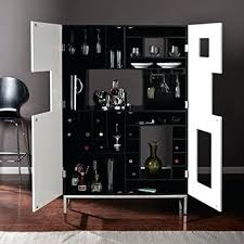 Amazon Com Southern Enterprises Shadowbox Wine Bar Cabinet Black In And  Ideas 1 Best Cabinets Used For Sale85