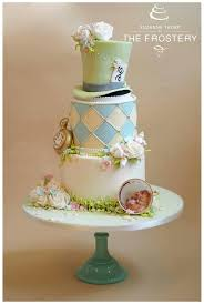 Mad Hatter Cake Designs Alice In Wonderland Cake Alice In Wonderland Wedding Cake