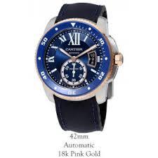 buy discount cartier calibre de cartier watches from precisiontime cartier crw2ca0008 calibre de cartier diver 42mm automatic mens watch