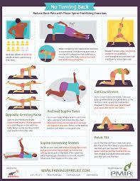 reduce back pain with these spine ilizing exercises