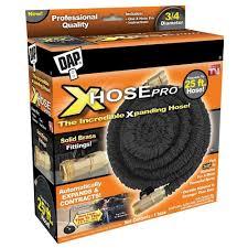 25 ft garden hose. DAP X-Hose Pro 3/4 In. Dia X 25 Ft. Expandable Ft Garden Hose T
