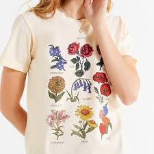 Flower Chart T Shirt Future State Flowers Chart Tee Shirt