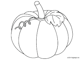Pumpkin Color Pages Pumpkin Coloring Pages Halloween