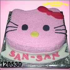 Kue Ulang Tahun Hello Kitty Pink San San Kue Ulang Tahun Bandung