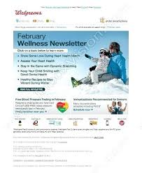 Wellness Newsletter Templates Health And Wellness Website Templates Andeshouse Co