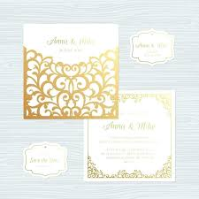 Blank Wedding Invitation Paper Stock Elegant Wedding Invitation