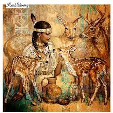 realshining full square diamond 5d diy diamond painting beauty giraffe 3d embroidery kits cross stitch rhinestone