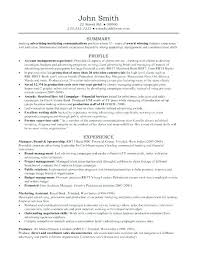 Advertising Account Manager Resume Account Manager Resume Template ...
