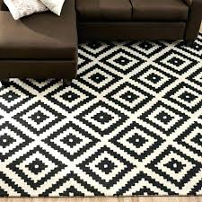 black and white outdoor rug unique area rugs with amazing cream striped furniture s near