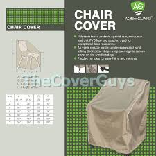 chair cover aquaguard outdoor furniture by aquaguard small to large
