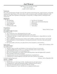 Part Time Resume Employment History Templates Examples Work Help Gorgeous Employment History Resume