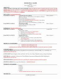 Resume In Usa Format Inspirational American Resume Samples American