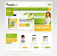 Products For Health Oscommerce Template 40137