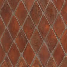 red terracotta floor tile homes plans