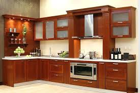 creative wooden kitchen cabinets designs stained varnished lacquered modern minimalist contemporary interior home decor dark wood