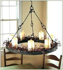 wrought iron chandeliers rustic round chandelier breathtaking faux candle with 7 light australian