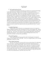 12 13 Goal Statement Examples Sangabcafe Com