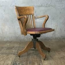Oak Office Chair Swivel