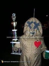 cool homemade voodoo doll costume