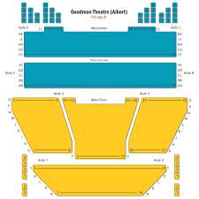Greenhouse Theater Seating Chart Goodman Albert Chicago Tickets Schedule Seating Chart