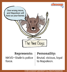 the nine dogs in animal farm the nine dogs
