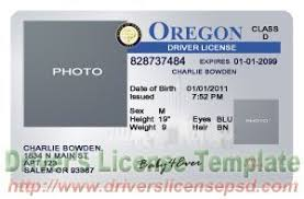 Certificate Psd Drivers Death License Or Training Photoshop Oregon Certificate - Oregon