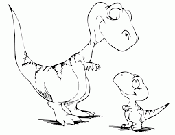 Small Picture Dinosaur Coloring Pages Kids Coloring Home