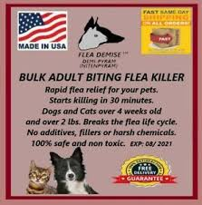 Zylkene Dose Chart Details About Flea Killer 1000 Doses Nitenpyram Dogs Cats Any Size Fast Results Guaranteed
