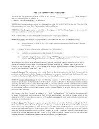 Website Design And Development Contract Template Web Development Contract By Fathatdesign Web Developer