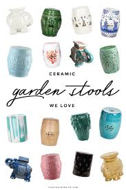 ceramic garden stools. Ceramic Garden Stool Round-up Stools