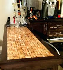 ... Full Image for Epoxy Bar Top Wine Cork Epoxy Bar Top By S Creations Wine  Cork ...