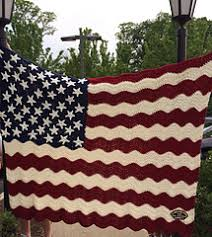 American Flag Crochet Pattern Beauteous Ravelry Wavy American Flag Pattern By Tracy Johnson