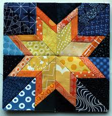 109 best Quilt Blocks - Paper Piecing - Stars images on Pinterest ... & paper pieced star block - free paper piecing pattern from Wombat Quilts Adamdwight.com