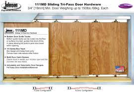 111md series multi pass door hardware