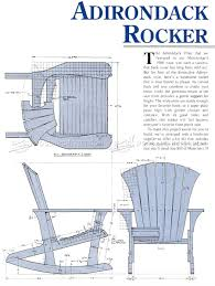 adirondack rocking chair plans. Interesting Chair Adirondack Rocking Chair Plans For D