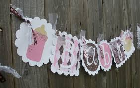 Baby Shower Banner Etsy Baby Shower Banner Girl Baby Shower Ideas Baby Shower
