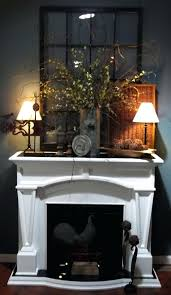 fireplace mantel lighting. Fireplace Mantel Lamps 4  Ideas Simple Decoration Using White . Lighting C