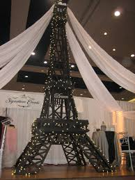 Eiffel Tower Decoration Eiffel Tower Party Decorations Signature Events Rental Centre