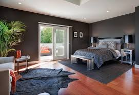 grey bedroom paint colors. Elegant Bedroom With Dark Grey Interior Paint Color Matched Luxury Bed Runner Colors .