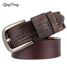 <b>Vintage Genuine Leather</b> Pin Buckle Belt For Men. Available Colors ...