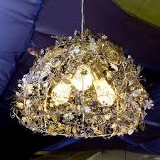 shabby chic lighting. 3-Light Dome Pendant Shabby Chic Lighting