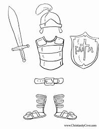 Armour Of God Coloring Page #7807