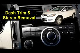 mazda cx 9 stereo removal replacement auto repair series mazda cx 9 stereo removal replacement auto repair series