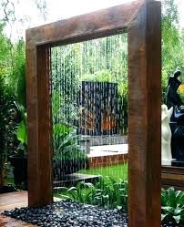 diy indoor water wall water wall kit wall fountain furniture outdoor or indoor colorful flash water