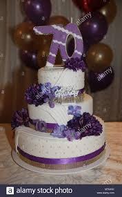70th Cake Designs 70th Birthday Cake Stock Photos 70th Birthday Cake Stock